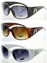 9205G-DP Pistol Rhinestone Conchos High Quality Fashion Sunglasses 12 Pair