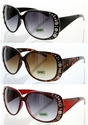 9252 High Quality Fashion Rhinestone Sunglasses 12 Pair