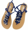 LSL-A13 Blue Women Summer Sandals Flip Flops