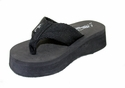 "Bonita Foot Flip 1.5"" Heel Black $6.99"