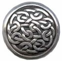 BS9170 SRTP ANTIQUE SILVER CELTIC SCREWBACK CONCHO