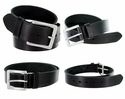 "BS1811 Genuine Leather Casual Belt-Black 1.5"" Wide $9.99"