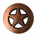 "BS9124-1 Copper  3/4"" Star Concho"