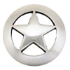 "BS9124-1 SRTP  3/4""  Antique Silver Star Concho"