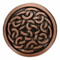 BS9170 COPPER ANTIQUE COPPER CELTIC SCREWBACK CONCHO