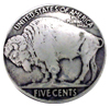 "BS9181-B SRTP 7/8"" Buffalo Nickel Coin Concho"