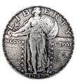 BS9182-A SRTP Standing Liberty Quarter Coin Reproduction Concho