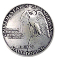BS9237-B SRTP 1 1/4'' STONE MOUNTAIN EAGLE COIN CONCHO