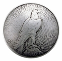 BS9238B SRTP Peace Dollar Eagle Reverse Coin Reproduction Concho