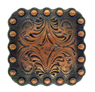 "BS9291-1 Copper<BR>1"" Berry Square Concho"