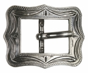 "BS9308-3 SRTP 3/4"" Antique Silver Cart Buckle"