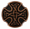 BS9977 Copper Celtic Concho 25mm 1""