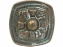 HA0141 Celtic Cross Antique brass Finish Belt Buckle