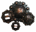 Copper Finish Conchos
