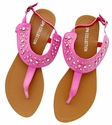 DXS-D19 Hot-Pink Women Summer Sandals Flip Flops