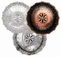 NEW! Engraved Windrose / Star-burst Conchos