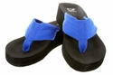 "EVA-2 Royal Blue Flip Flops 1-3/4"" Heel"