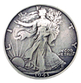 F9547-A SRTP WALKING LIBERTY HALF DOLLAR COIN REPRODUCTION CONCHO