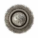 FA4863-3 LASRP Antique Silver Center Rope Concho 1 1/2""