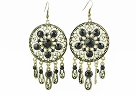 FE101001 Dream Catcher Earrings