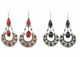FE101127 Drop Drape Fashion Earrings *Multi-Color Options*