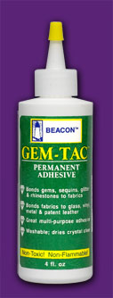 Gem-Tac Glues