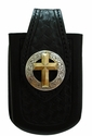 Gold Cross Concho Cellphone Case-BS9270 SRTP/GP