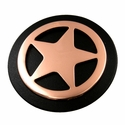 LL1170 COB Star  Concho Copper with Matte Black Paint 1-1/2""