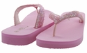 Mariposa Women Summer Bling Flip Flops Sandals - Pink