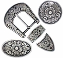 Matching Buckle Sets and Conchos Collections