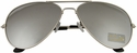 Men's Designer Aviator Reflective Mirror Lens Sunglasses UV400