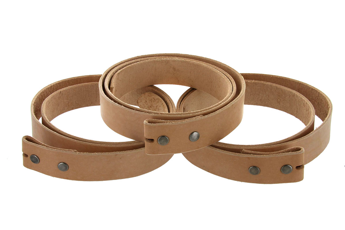 cowhide leather belt blanks with snaps 50 quot