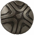 "NB-167 Dark Silver Beaded Star Upholstery Tack 5/8"" 10/Pack"