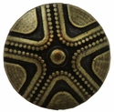 "NB-168 Brass Bronze Beaded Star Upholstery Tack 3/4"" 10/Pack"