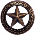 "NB-906 Copper Star Upholstery Tack 1"" 10/Pack"