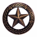 "NB-907 Copper Star Upholstery Tack 3/4"" 10/Pack"