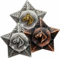 New! Horsehead Star Conchos