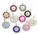 "NS001Rhinestone Pendants Size 1 1/2"" For Necklace"