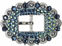 Ocean Crystal Cart Buckle 3/4""