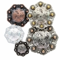 Octagon Berry Conchos