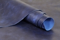 Oil Tanned Leather Cowhide 1.25mm - Blue