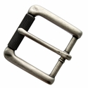 "P4139 Antique Silver Roller Belt Buckle fit's 1-3/8"" (35mm)"