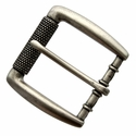 "P4252 Antique Silver Roller Belt Buckle fit's 1-1/2"" (38mm)"