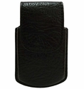 PC221 Genuine Leather Cell Phone Case-Fits Razr Color Black