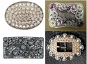 Rhinestone Belt Buckle (Click here to see more Styles)