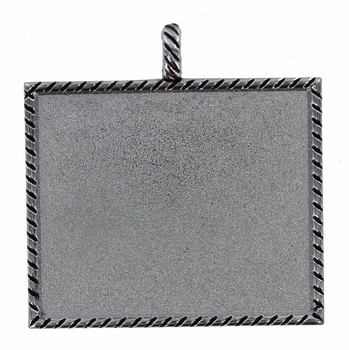 S-145 Chrome Picture Holder Frames Pendents