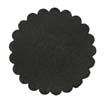 Saddle Leather Rosettes Conchos Leather Concho Black 1-3/4""