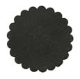 Saddle Leather Rosettes Conchos Leather Concho Black 2""