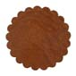 Saddle Leather Rosettes Conchos Leather Concho Tan 1-1/4""
