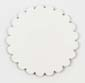 Saddle Leather Rosettes Conchos Leather Concho White 1-1/4""
